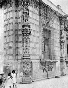 Casa de los Mascarones 1930.