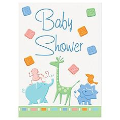 Animal Crackers Baby Shower invitaciones (8)