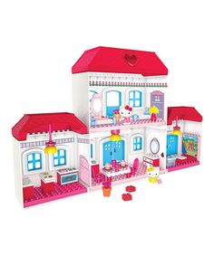 Take a look at this Hello Kitty House Set by Hello Kitty on #zulily today!