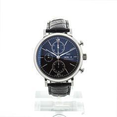 IWC Portofino Chronograph Black sicher kaufen - Geprüfte Uhren von Montredo