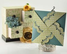 Decorative Border Folded Envelope Tutorial