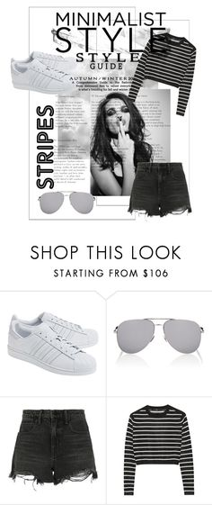 """""""Minimalist"""" by shaxyllxy on Polyvore featuring adidas Originals, Whiteley, Yves Saint Laurent, Alexander Wang and TIBI"""