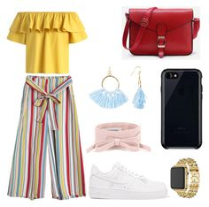 """Başlıksız #27"" by elif-buglem-akyol on Polyvore featuring moda, Chicwish, NIKE, Belkin, Taolei, Apple ve Valentino"