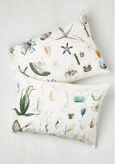botanical pillow covers