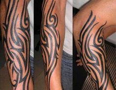 Tribal Tattoo Designs For Men forearm | angel tattoos, tattoo ...