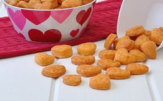 Fans of savory Goldfish crackers will find a special place in their hearts for this homemade and heart-shap...