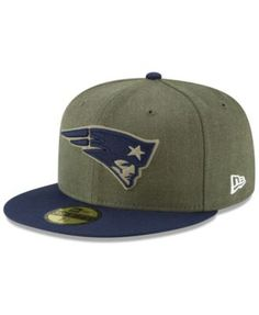 New Era New England Patriots Salute To Service 59FIFTY Fitted Cap - Green 7 760777dda397