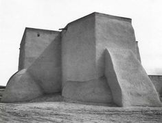 """The Ranchos de Taos Church is one of the most beautiful buildings left in the United States by the early Spaniards."