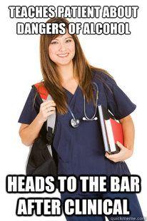 Alcoholic Pancreatitis Nursing School Humor Nursing Memes Nursing Schools Nursing Career Nursing
