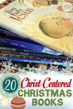 I just love Christmas stories. Whether wrapped under the tree or in a basket to enjoy, these Christ Centered Christmas books will help you keep your focus on the real reason for the season.