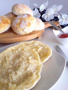 Blitz Quarkbrötchen :: Bella-cooks-and-travels Food N, Food And Drink, Hamburger, Bread, Cooking, Breakfast, Austria, Pizza, Gluten Free Breads
