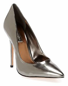 """Some of you have to get in on this: BCBGMAXAZRIA """"Onnie"""" Leather Pump"""