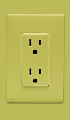 Leviton Renu - Colorful switches, dimmers, outlets and wall plates - Granny Smith Apple