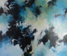 Mattie Schilders Tribute to the Havasupai (1991) olieverf, 180 x 150