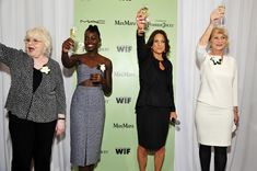 June Squibb, Lupita Nyong'o Cathy Schulman & Helen Mirren,