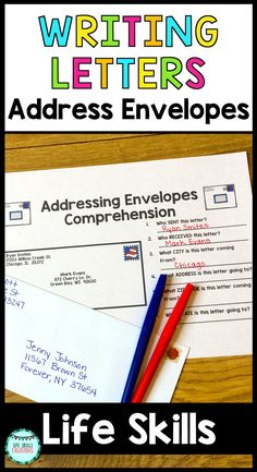 Many students are not able to successfully navigate labeling an envelope correctly on their own. Even more are unfamiliar with the process of going to the post office and the verbiage that goes along with it! With this packet, students are taught how to label each part of an envelope correctly. This packet also has a strong emphasis on building a better understanding of vocabulary used at the post office as well! $ Gr 2-12 | Life Skills | Special Education