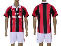 AC Milan Home Soccer Jersey 12/13 - www.worldsoccerforsale.com