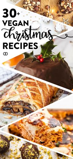 The best vegan Christmas recipes put together for you! Christmas breakfast, vegan Christmas dinner ideas, and side dishes plus decadent vegan dessert! dinner recipes The best vegan Christmas recipes Vegan Christmas Dinner, Christmas Breakfast, Vegan Christmas Desserts, Christmas Cooking, Vegan Dinner Party, Vegetarian Christmas Recipes, Christmas Snacks, Vegan Dishes, Vegan Desserts