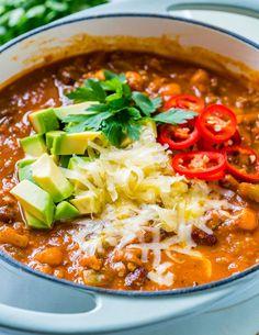 Spicy Pumpkin Chili Ingredients