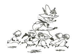Snufkin, Little My, Moomin, Tove Jansson Break rules Tove Jansson, Moomin Valley, Dear Students, Illustrations, Book Illustration, In This World, Childrens Books, Literature, Nostalgia