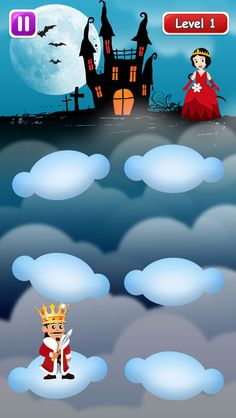 #Prince & #princess can be a beautiful couple! Cross Daizy clouds & let them meet!