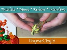 Link to video Let's Get Podly! A Reason to Friesen Create Along Crafty Challenge with Polymer Clay Adventure with PolymerclayTV Sculpey Clay, Polymer Clay Canes, Polymer Clay Dolls, Polymer Clay Jewelry, Diy Clay, Clay Crafts, Clay Videos, Clay Texture, Polymer Clay