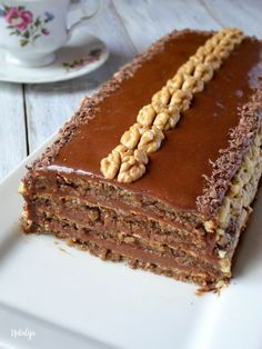 Reform torta - Mystic Cakes You are in the right place about Macedonian food sweets Here we offer yo Baking Recipes, Cookie Recipes, Wine Recipes, Dessert Recipes, Torte Recepti, Kolaci I Torte, Torte Au Chocolat, Rodjendanske Torte, Torta Recipe