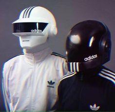 Alien Adidas wear.