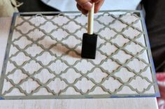 TV Tray Table Makeover Tutorial Couch Tray, Tv Tray Table, Tv Trays, A Table, Tv Tray Makeover, Furniture Makeover, Diy Furniture, Furniture Refinishing, Tv Dinner Trays