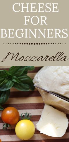 Home Made Mozzarella Cheese, Fresh Mozzarella, Homemade Mozzerella, Homemade Cheese, Italian Party, Clean Eating, Healthy Eating, Italian Cooking, Organic Chemistry