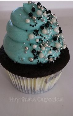 Cute cupcake for a girls birthday party