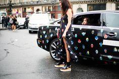 Street Style Paris Fashion Week P/V 2015 © Josefina Andrés.