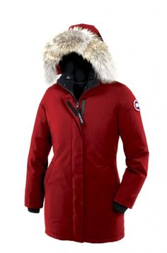 Canada Goose Women Victoria Parka Red, was a present from my lovely husband <3