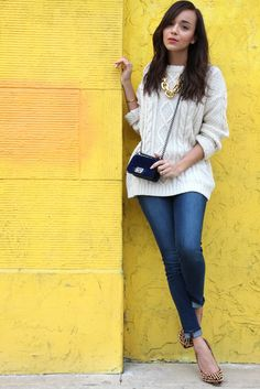 Ring My Bell: chunky sweater