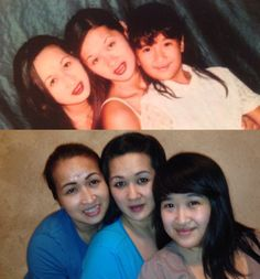 A 20 year difference...ahhh sisterly love!