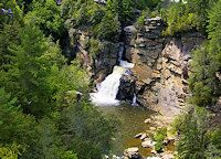 25 top waterfalls near Asheville. I'm gonna be a tourist and visit as many of these as I can!