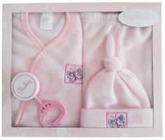 swakidsstore,Bambini 4 Piece Fleece Set - Pink