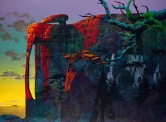 Roger Dean painting