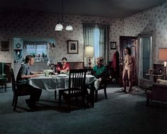 Untitled (Family Dinner), 2001, Gregory Crewdson