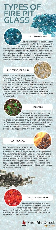 A Buying Guide to the 6 Types of Fire Glass Gas Fire Pits and Gas Fireplaces are getting a modern makeover with the latest in fire pit media; No matter the design of your patio or home, there is a color and style to match! Backyard Projects, Outdoor Projects, Backyard Patio, Backyard Fireplace, Fireplace Glass, Backyard Kitchen, Modern Fireplace, Glass Fire Pit, Fire Pits
