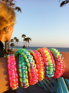 DIY Ombre Braided Embroidery Thread Friendship Bracelets diy