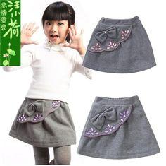 Autumn-and-winter-girls-clothing-child-short-skirt-female-child-bust-skirt-woolen-kid-s-skirt by MehtapGenc, via Flickr