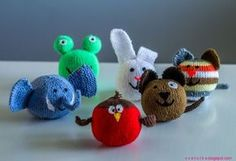 Knitted Little Creatures Free Pattern