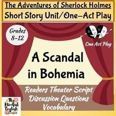 Scandal of bohemia essay