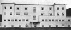 Josef Hoffman- Sanatorio di Purkersdorf, presso Vienna, 1904-1908