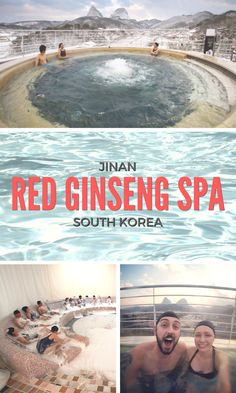 JINAN Red Genseng Spa // SOUTH KOREA
