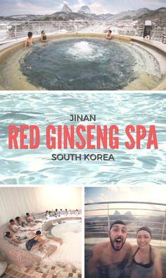 JINAN Red Genseng Spa //  SOUTH KOREA
