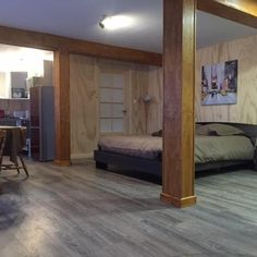 Studios tout équipés Located in Saint-Pierre Studios tout équipés provides accommodation with a seating area and a kitchen. Free WiFi is offered. St Pierre And Miquelon, Free Wifi, Lodges, Bunk Beds, Studios, Kitchen, Furniture, Home Decor, Everything