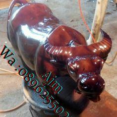 Patung kerbau  Open order_Ajm  Wa :089625502576  Pin bb D2B83A05  Kami adlh produsen produk furniture yang jg menerima pesanan custom desain sendiri dan kami mengutamakan kwalitas brang yg kami produksi