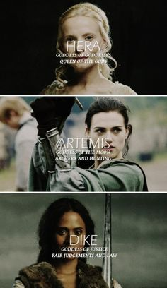 Merlin + Greek Goddesses 1/4